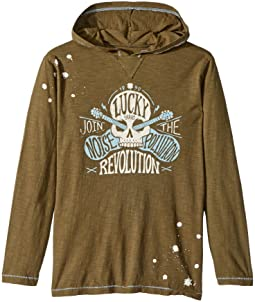 Lucky Brand Kids - Make Noise Hoodie (Big Kids)