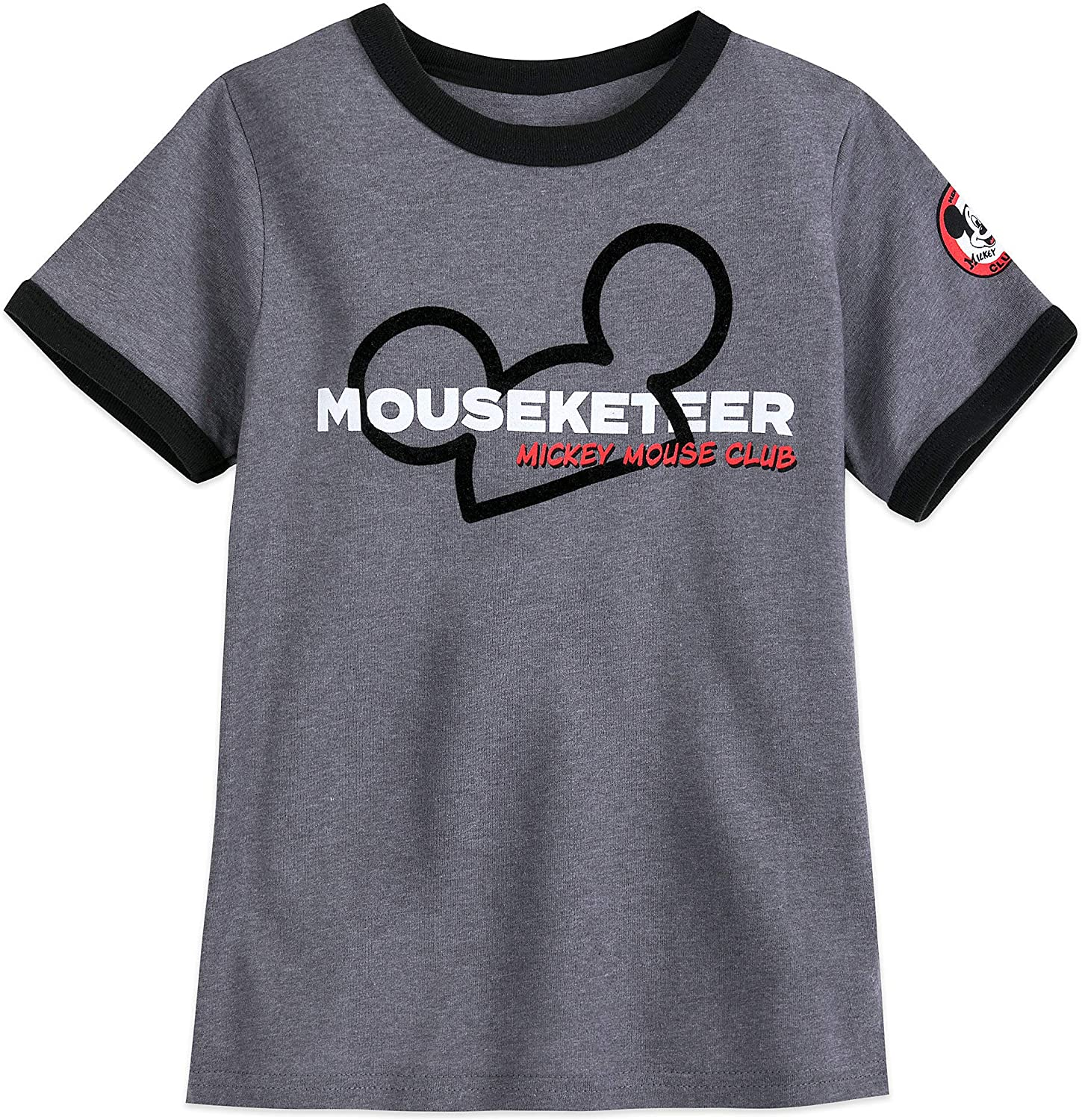 Disney The Mickey Mouse Club Mouseketeer Ringer T-Shirt for Boys