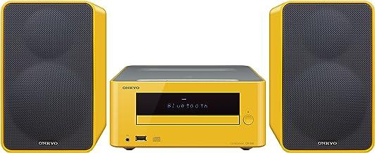 Onkyo CS-265 (Y) - Sistema mini (Bluetooth, NFC, USB frontal), color amarillo