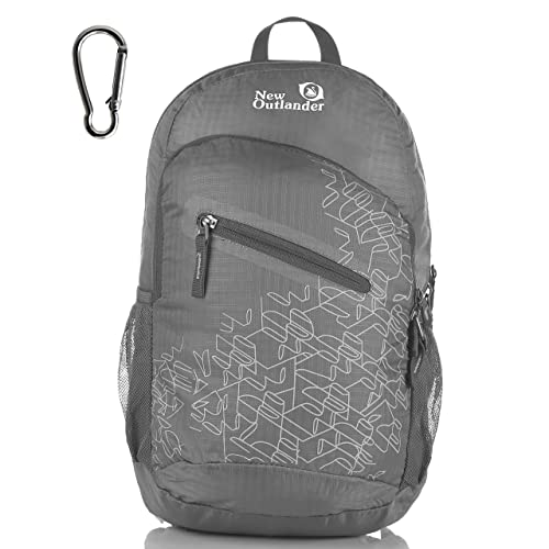 Outlander Ultra Lightweight Packable Water Resistant Travel Hiking Backpack  Daypack Handy Foldable Camping Outdoor Backpack f1342f34c91e0