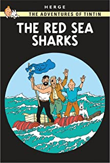 The Adventures of Tintin The Red Sea Sharks by Herge - Paperback