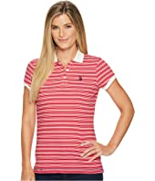 U.S. POLO ASSN. - Cotton Jersey Stripe Polo Shirt