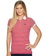 U.S. POLO ASSN. - Cotton Jersey Stripe Polo Shirt