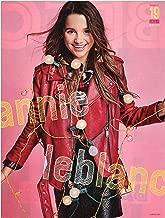 Annie LeBlanc 8x10 Magazine Pin Up in Red Jacket b/w Brec Bassinger 2018 Teens