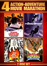 Action Adventure Movie Marathon (Shake Hands With the Devil/The Final Option/I Escaped From Devil's Island/Treasure of the...