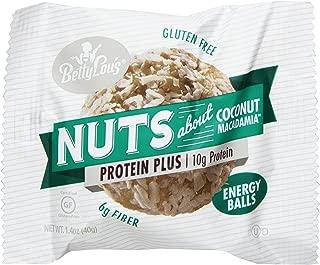 Betty Lou's Energy Balls, Coconut Macadamia, 1.4 Ounce (Pack of 12)