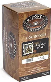 Sponsored Ad - Baronet Coffee French Dark Roast, 18-Count Coffee Pods (Pack of 3)