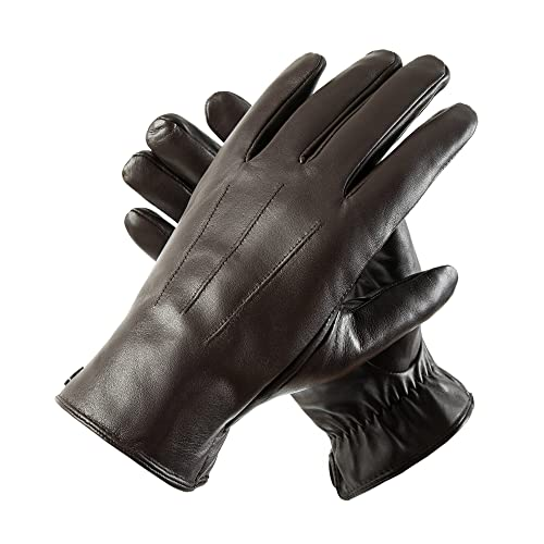 Leather Touchscreen Gloves: Amazon.co.uk