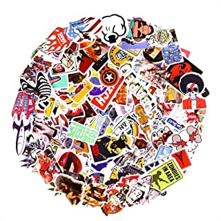 Breezypals Stickers, Laptop Stickers Car Motorcycle Bicycle Luggage Decal Graffiti Patches Skateboard Sticker Pack (200 Pcs)
