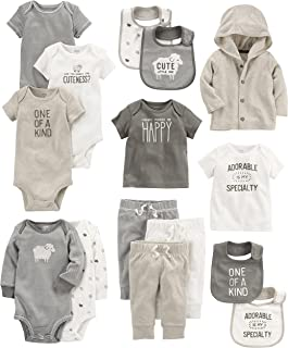 Carter's Baby Girls' 15-Piece Basic Essentials Set