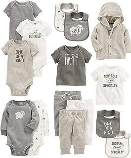 Carter's Baby Girls' 15-Piece Basic Essentials Set