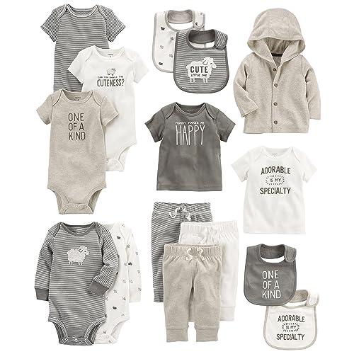 1cb41f098e0 Carter s Baby Girls  15-Piece Basic Essentials Set