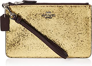 Coach Womens Small Wristlet, Yellow - 77964B