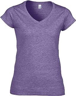Gildan Ladies Soft Style Short Sleeve V-Neck T-Shirt