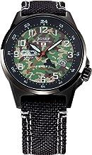 [ケンテックス] 腕時計 JSDF 迷彩モデル 陸上自衛隊モデル S715M-08 ブラック
