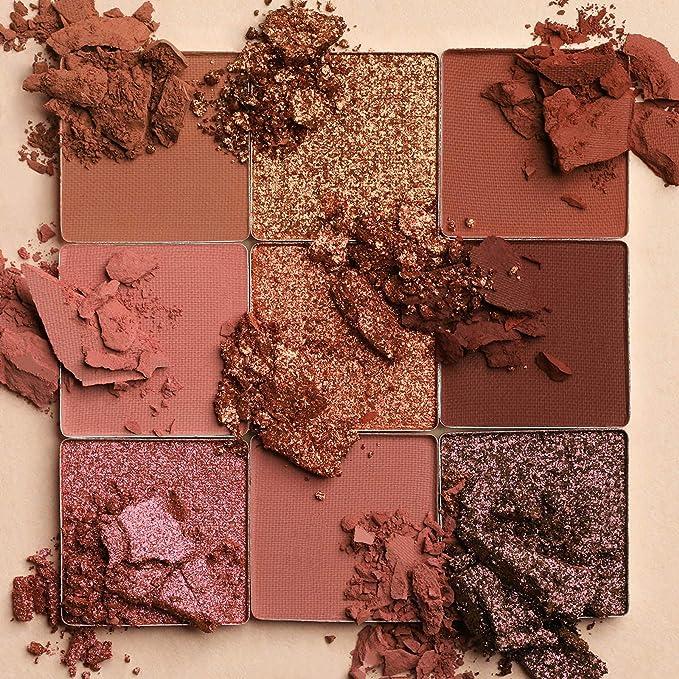 nude eyeshadow palette huda beauty 100% authentic (medium)