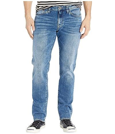 Mavi Jeans Marcus Regular Rise Slim Straight Leg in Mid Authentic Vintage (Mid Authentic Vintage) Men