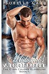 Midnight's Atonement: A Paranormal Romance Vampire Werewolf Hybrid Series (The Cynn Cruors Bloodline Series Book 3) Kindle Edition
