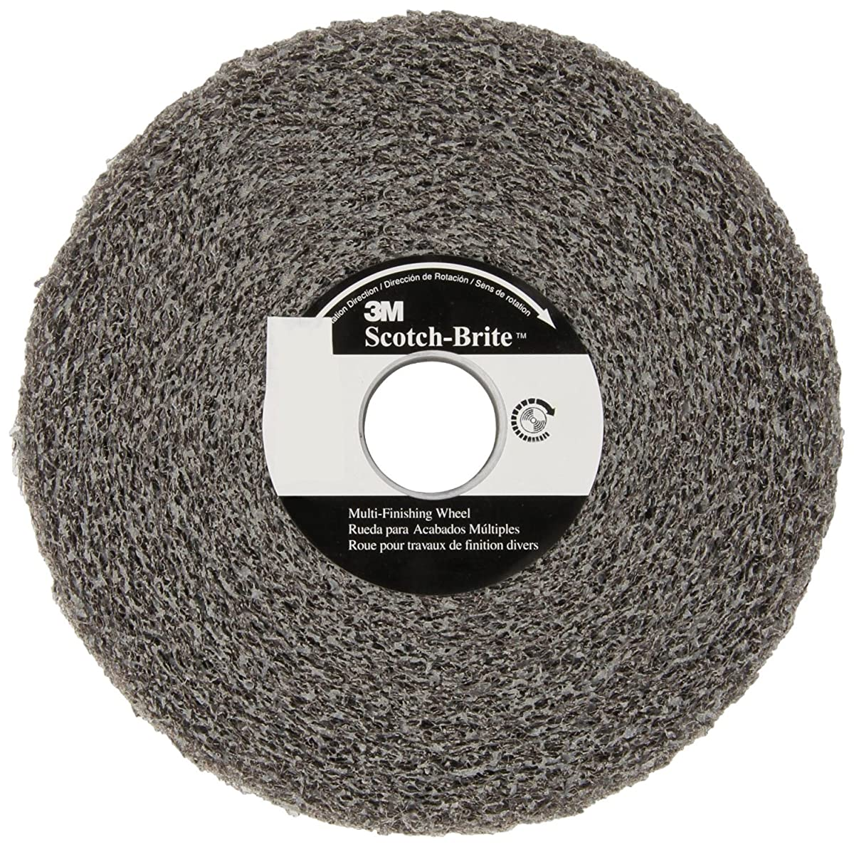 Scotch-Brite(TM) Multi-Finishing Wheel, Medium Grit (Pack of 1)