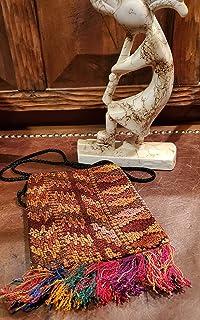 Crossbody Native Indian shaman Coca medicine Bag Aspen Andes
