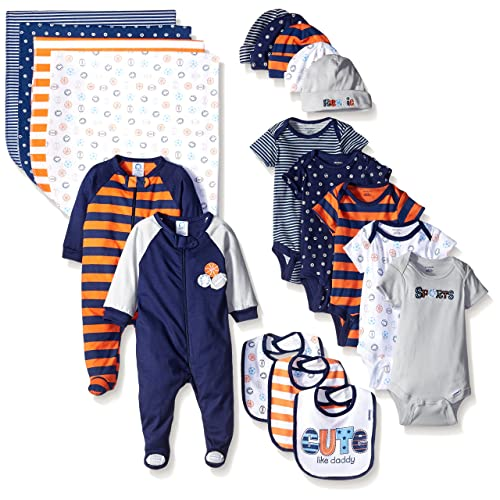 Gerber Baby Boys 19-Piece Essentials Gift Set