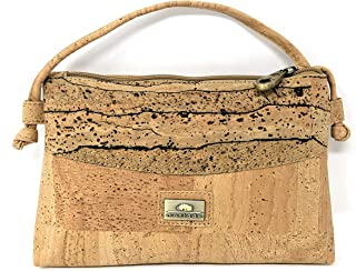Montado Crossbody Bag for Women - Handmade in Portugal From Cork Leather - Handbag Purse