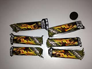 Deezer Quick Flame Charcoal 33 mm 6 Roll (10Tablet Each)