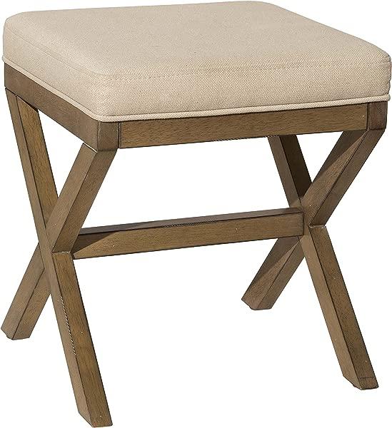 Hillsdale Furniture 51021 Somerset Vanity Bench Driftwood