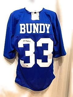 Ed O'Neill Al Bundy Polk High Signed Autograph Custom Football Jersey #33 Married With Children Schwartz Sports Certified