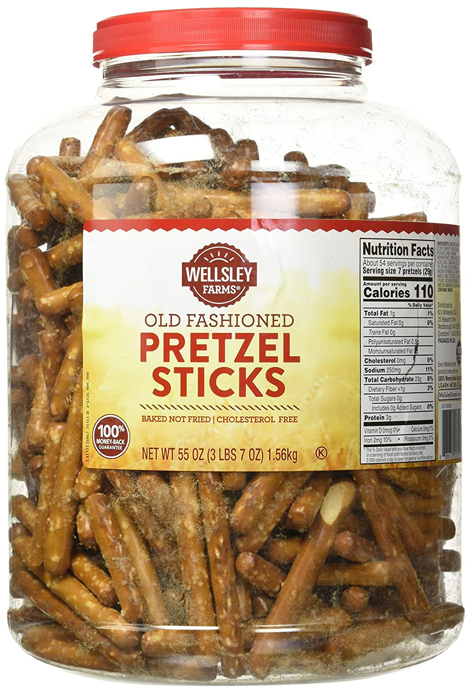 Wellsley Albuquerque Mall Farms Pretzels Sticks Net Wt OF Oz 55 4 SET Max 86% OFF -