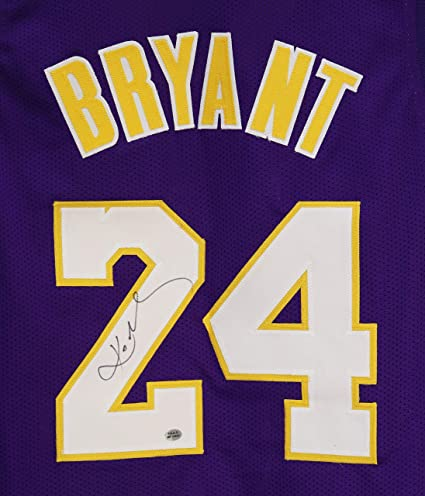 Kobe Bryant Los Angeles Lakers Signed Autographed Purple #24 ...