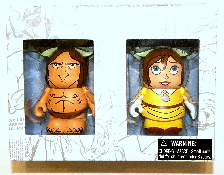 Disney Vinylmation Boxed Set 2 Tarzan Jane 3 Figures Animation 5 Limited Edition 1500 by Disney