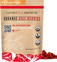 2 lbs/32oz Premium Organic, Raw & Dried Goji Berries - USDA Certified - (907g) - Natural Superfood - Extra Large, Non GMO ...