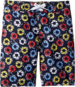 Janie and Jack Printed Swim Trunks (Toddler/Little Kids/Big Kids)