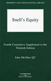 Snell's Equity: 4th Supplement