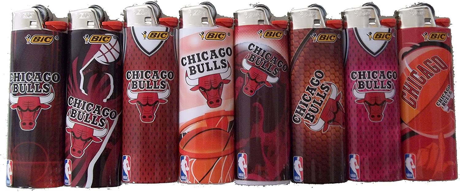 Bic Lighters Compatible Boston Mall Indianapolis Mall with Chicago NBA Licens Officially Bulls
