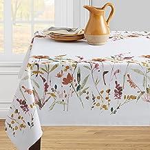مفرش مائدة بينسون ميلز بتصميم الزهرة البرية للاستخدام في الأماكن المغلقة والمفتوحة، 132.08 سم × 177.8 سم، سبايس