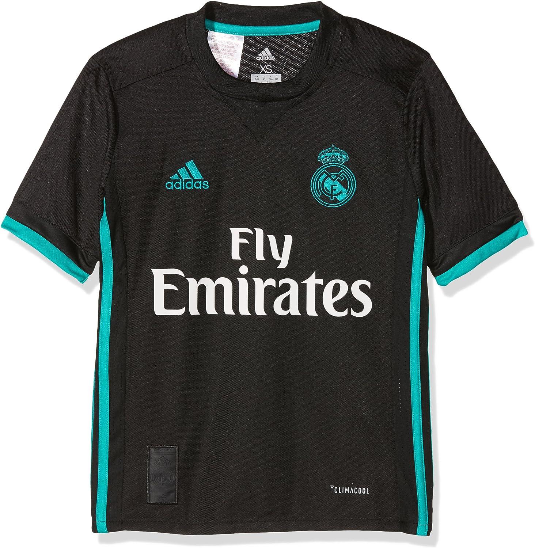 adidas Real Away Jersey Camiseta 2ª Equipación Real Madrid 2017-2018 Niños
