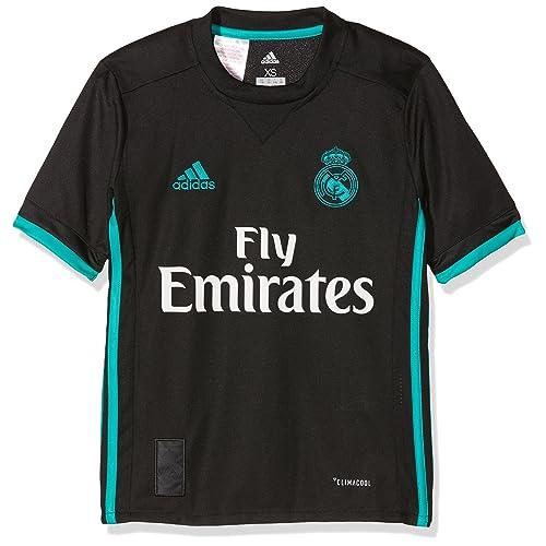 adidas A JSY Y Camiseta 2ª Equipación Real Madrid 2017-2018 8cb5172390262