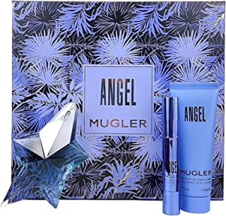 Thierry Mugler Angel for Women by Thierry Mugler 3 Pc. Gift Set (EDP 0.8 oz + Perfuming Pen 0.1 oz + Perfuming Body Lotion...