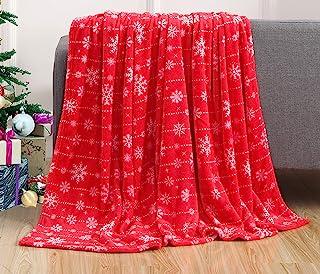 """أغطية أنيقة مريحة ودافئة ودافئة للفراش في الشتاء، أريكة وهدية، مقاس 127 × 152 سم, 50 x 60"""""""