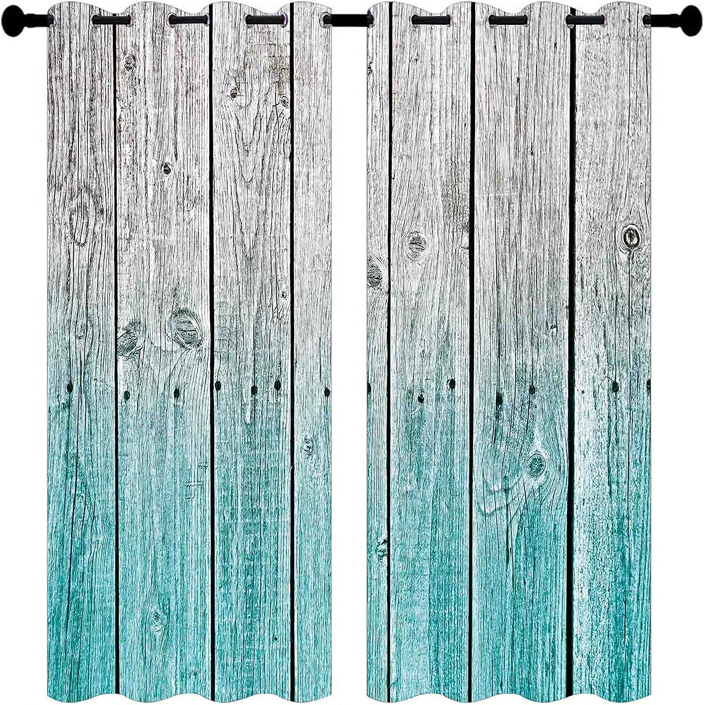 Antique Wooden Garage Door Curtain Barn Brown Many popular brands Farmhouse Spasm price Retro We