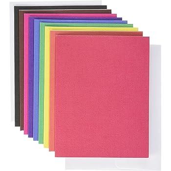 American Crafts – Tarjetas Lisas con Sobres A2 (11,1 x 14,6 cm ...