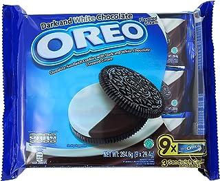Oreo Dark and White Cookies, 29.4g (Pack of 9)