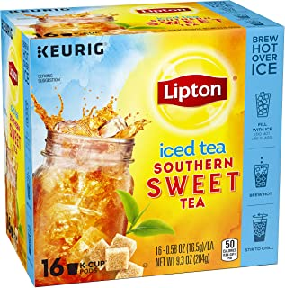 Lipton K-Cups, Refresh Iced Sweet Tea 16 ct