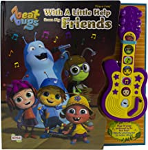 Beat Bugs - With a Little Help From My Friends Board Book Sound Guitar Toy - Play-a-Sound - PI Kids