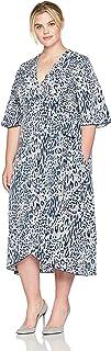 Melissa McCarthy Seven7 Women's Plus Size Wrap Dress