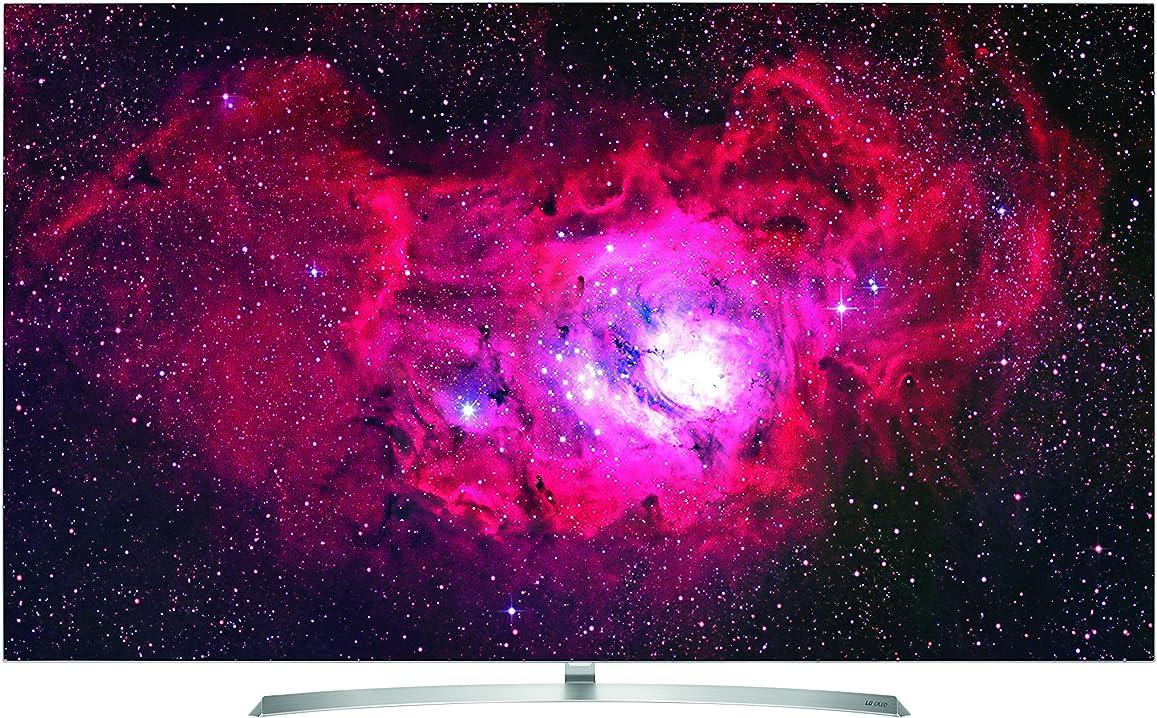 Tv 55 pollici smart tv wi-fi silver,white led tv - led tvs (139.7 cm (55