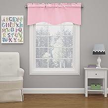 ECLIPSE ستائر النوافذ - كيندال 42 بوصة × 18 بوصة ستارة قصيرة ستائر نافذة صغيرة للحمام، غرفة المعيشة والمطابخ، باقة