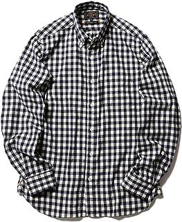 (ビームス)BEAMS/カジュアルシャツ PLUS シャギーギンガムチェック ボタンダウンシャツ メンズ